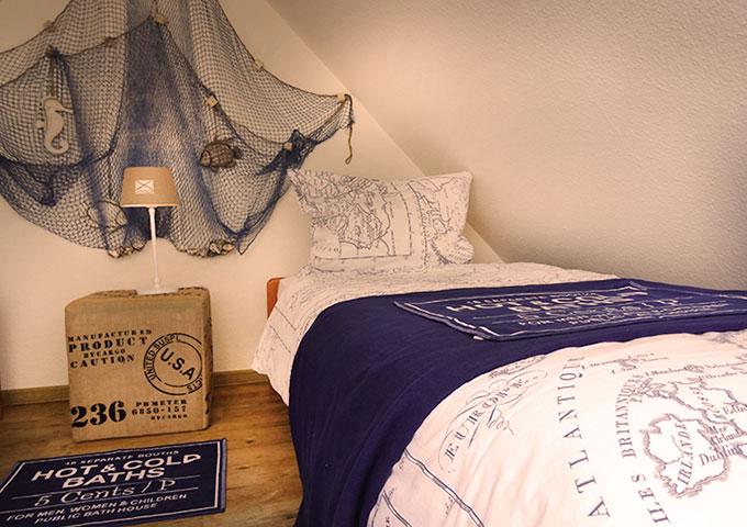 Tidehuus Maisonette Schlafzimmer Wohnung 3