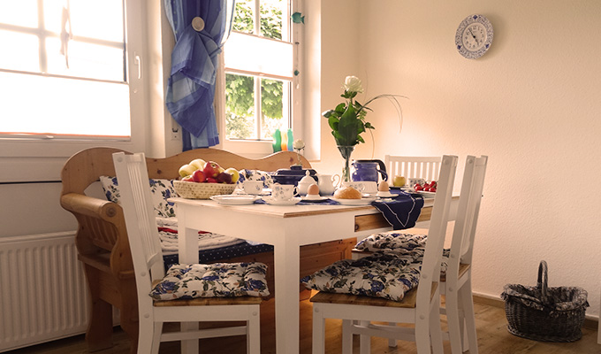 Tidehuus Kuechenzeile Ferienhaus