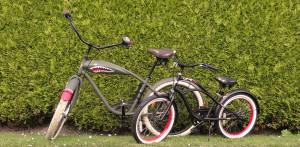 Tidehuus Beachcruiser und Fahrrad