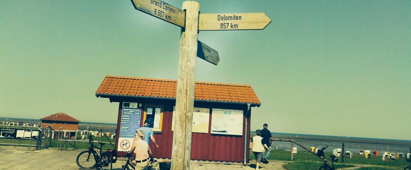 Radtour in Horumersiel