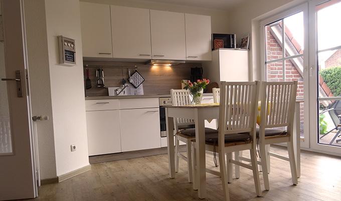 Wohnung 2 Küche Tidehuus