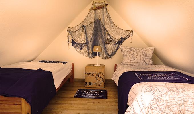 Tidehuus Spitzbodenzimmer Wohnung 3
